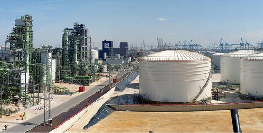 Neste refinery Rotterdam
