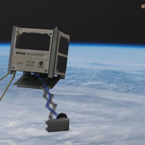 UPM and partners to launch world's first wooden satellite