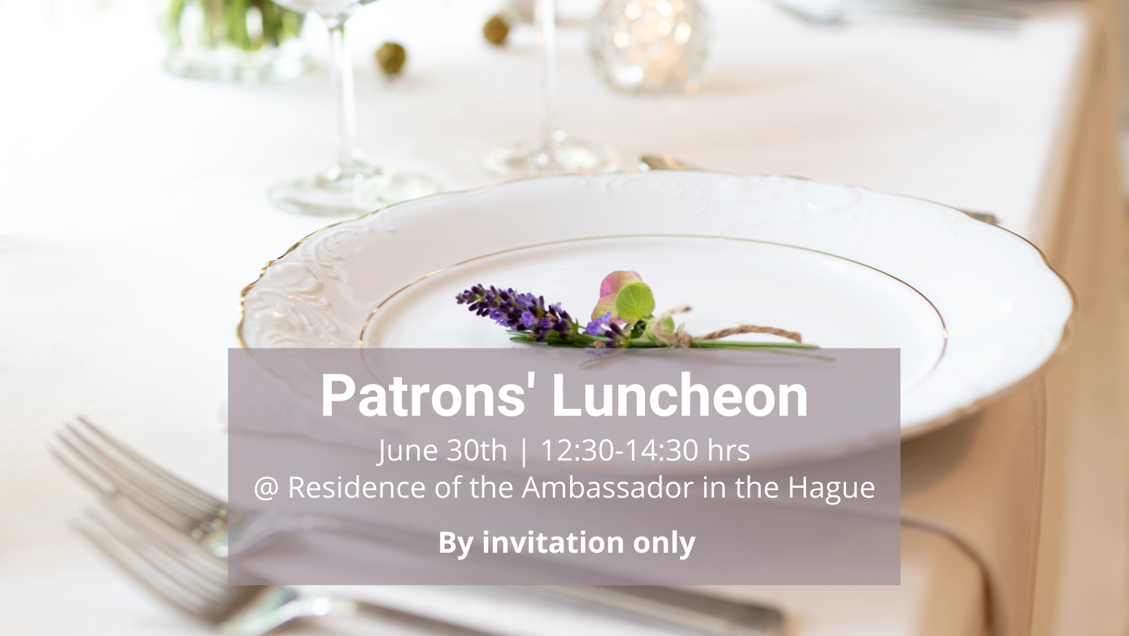 FDCC Patrons Luncheon